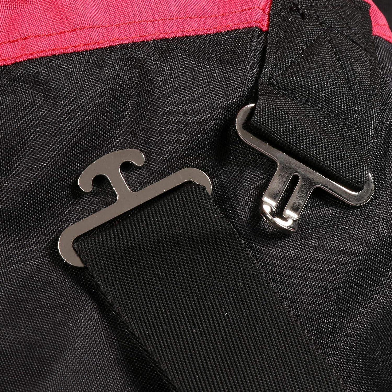 Rouge Generic Couverture de Couverture Imperm/éable pour Cheval 145 cm