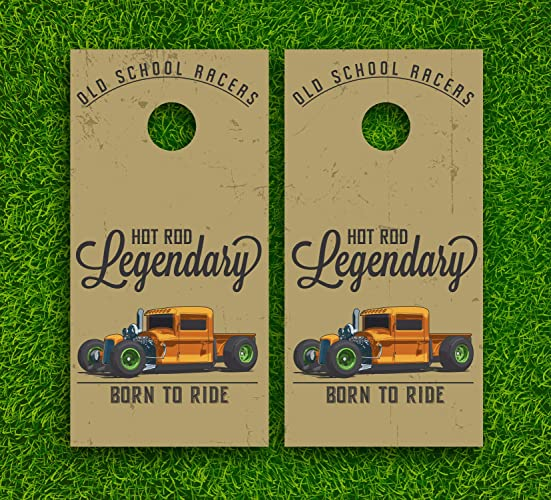 Hot Rod Legendary Racers Pick-Up Truck Tailgate Wraps