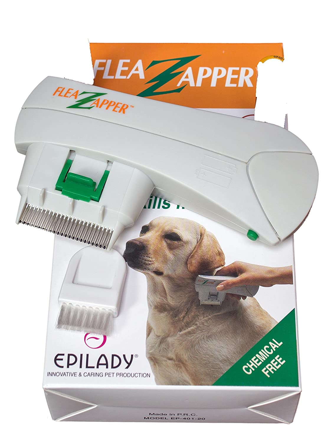 Electronic Flea Comb Zapper Epilady Electric Killer Safe For Thdogrepellentelectroniccircuitsjpg Cats Dogs Pets Animals Detects Controls Destroys Kills Fleas No Toxins Or