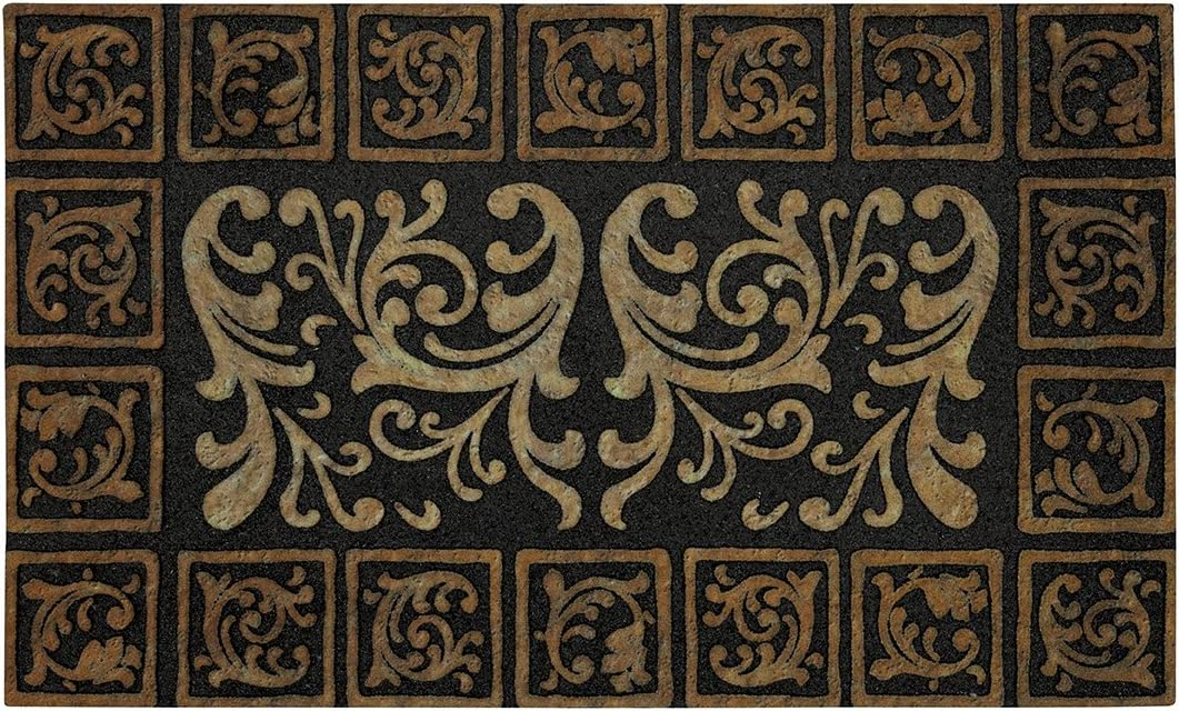 Mohawk Home Scroll Tile Doormat, 18 by 30-Inch