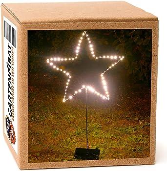 Led Stern Beleuchtet Stehend Mit Stander 90 Cm 80 Led Warmweiss Weihnachten Amazon De Beleuchtung