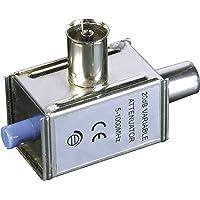 Rotary volume control, Blanco, 50 W, 85 x 85 x 71 mm, 210 g Mando Monacor ATT-250//WS Rotary volume control 50 W