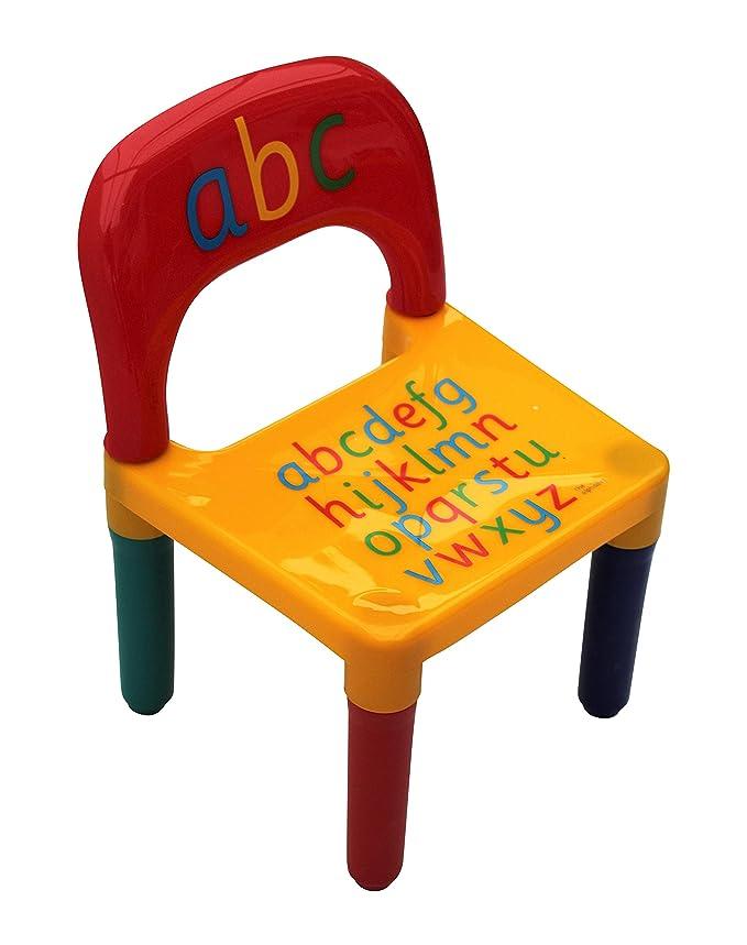 /Geschenk von Home H/ütte /® Tisch und Stuhl-Set ABC Alphabet Kinder Kunststoff/ /Kinder Kleinkinder Kinder/