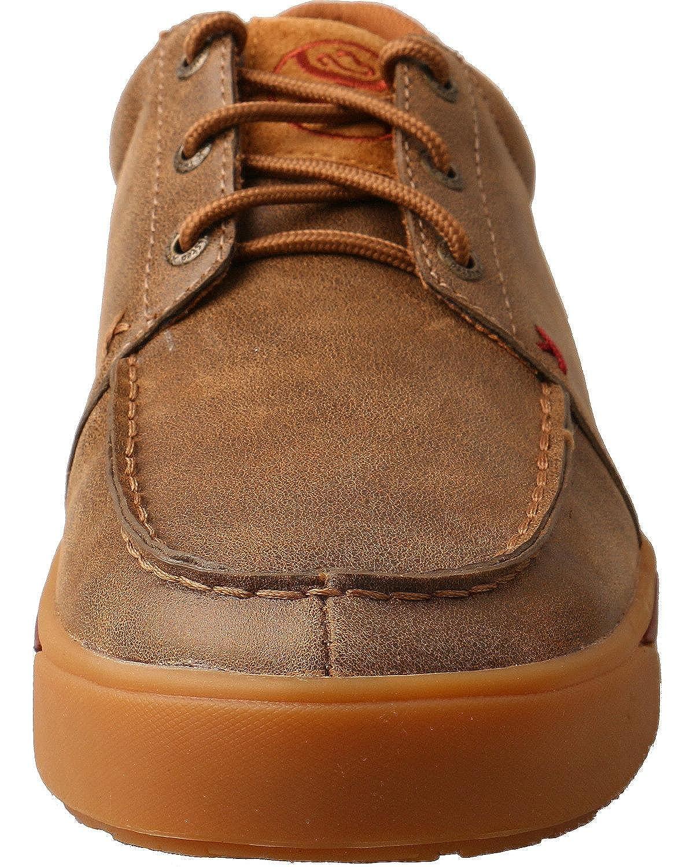 Twisted X Mens Hooey Khaki Canvas Shoes