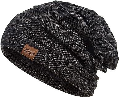 LONGCXBYUE Mens Womens Beanie Hat Tuke Warm Slouchy Hat Unisex