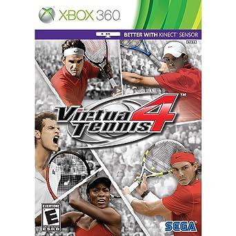 Sega Virtua Tennis 4 Juego Xbox 360 Deportes E Para Todos