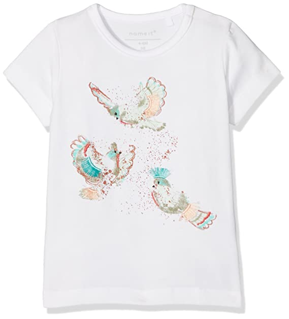 NAME IT Nbfjosa SS Top Camiseta para Beb/és