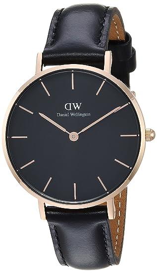 af107aede009e7 Daniel Wellington Women's DW00100168 Classic Petite Sheffield 32mm Watch:  Amazon.ca: Watches
