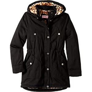 b58987b411d7 Amazon.com  Urban Republic Little Girls  Cotton Twill Anorak Jacket ...