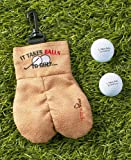 MySack Golf Ball Storage Bag   This Funny Golf Gift Is Sure to Get a Laugh   Store Your Other Golf Accessories for Men…