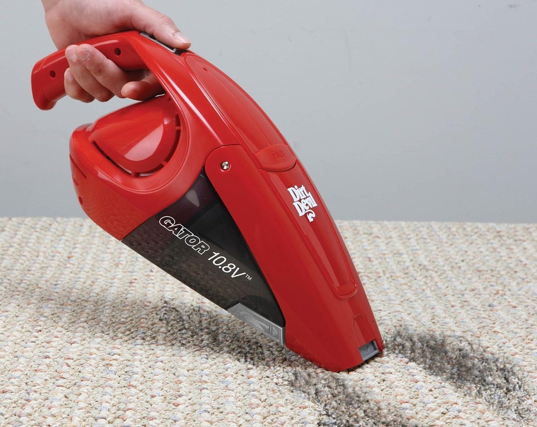 Amazon.com - Dirt Devil Hand Vacuum Cleaner Gator 10.8 Volt Cordless  Bagless Handheld Vacuum BD10100 - Household Handheld Vacuums