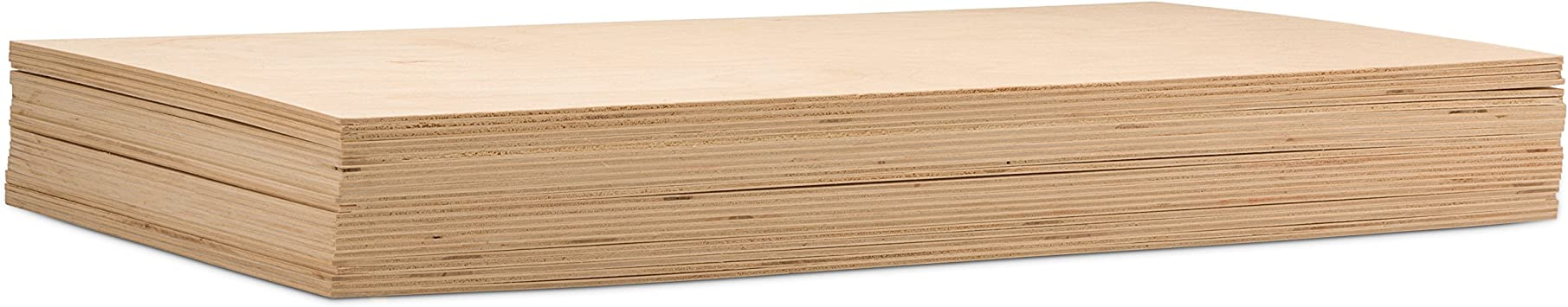 Wood Burning and Laser Projects B//BB Grade Perfect for Arts and Crafts Wood Engraving 6MM 1//4 x 12 x 12 Premium Baltic Birch Plywood Painting School Projects and DIY Projects Package of 3 Drawing