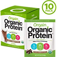 Orgain Organic Plant Based Protein Powder Travel Pack