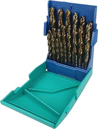 Heller - Estuche brocas hss turbo 1-13mm 25tlg: Amazon.es: Bricolaje y herramientas