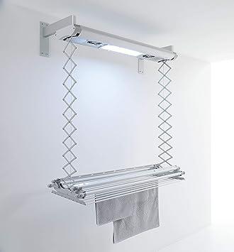 foxydry Air - Tendedero eléctrico de pared y techo,