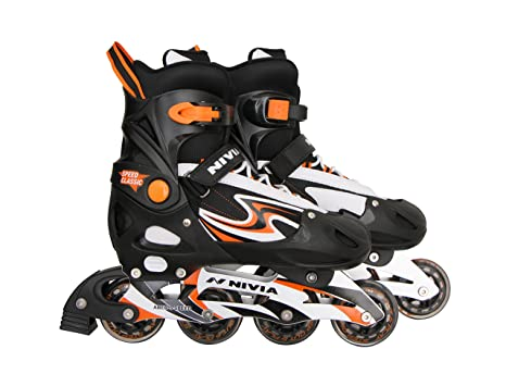 10b9490851e Buy Nivia Speed Classic Inline Skates Online at Low Prices in India -  Amazon.in