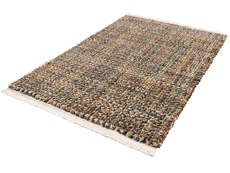 Luxus Langflor Shaggy Teppich I Fransen | Wohnzimmerteppich Esszimmerteppich Bettumrandung Vorleger Teppichläufer Flur-Läufer Bettvorleger I Hochwertig, Größe:80x150