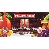 Pompadour Infusione per Bevande Calde, Magic Emotion - 20 Filtri