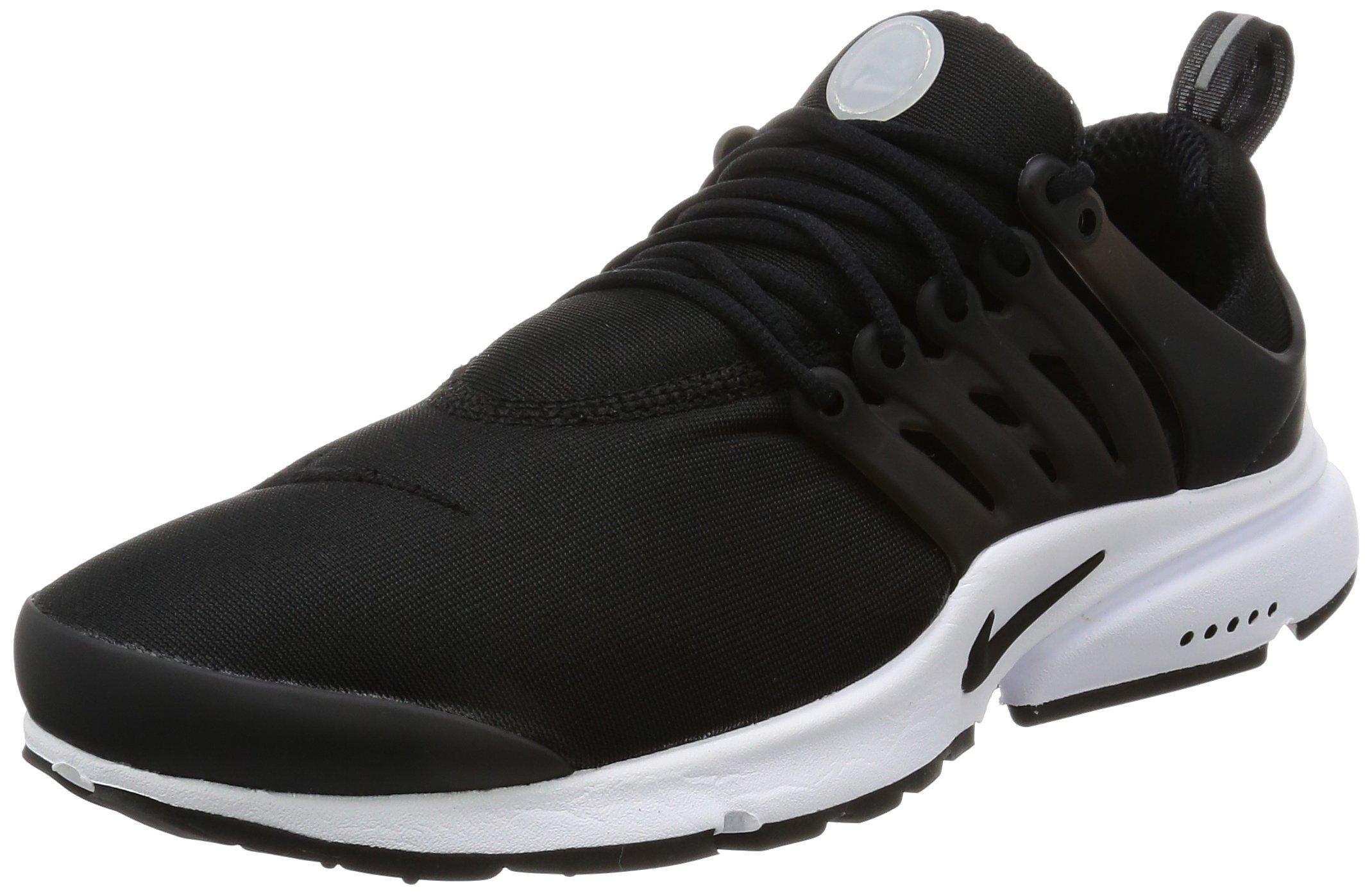 Nike Mens Air Presto Essential Black/Black/White Running Shoe 7 Men US