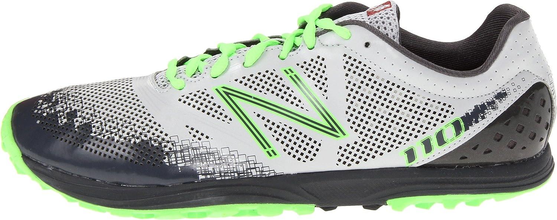 Amazon.com | New Balance Mens MT110 NBX Trail Running Shoe, Grey/Green, 7 2E US | Trail Running