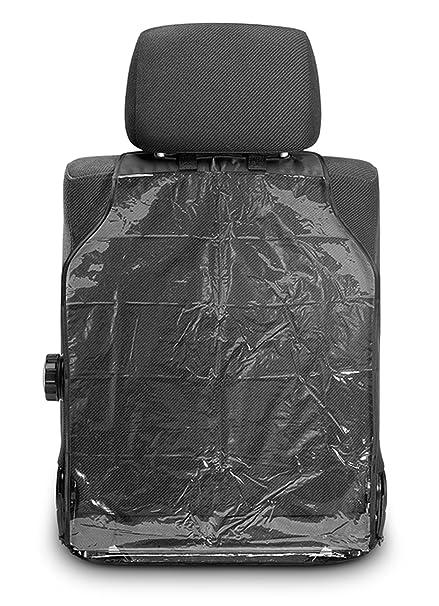 Reer 74506 Schutzfolie Zuverlässiger Schutz Vor Schmutz Und Abnutzung Der Rückseite Von Fahrer Und Beifahrersitz Im Auto Baby