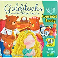 Goldilocks and the three bears - Come-To-Life Board Book - Little Hippo Books
