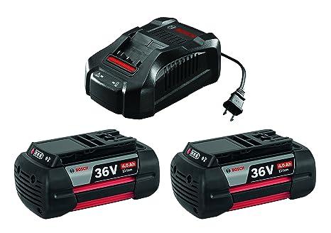 Bosch SKC36-01 36V iones de litio batería y cargador Starter ...