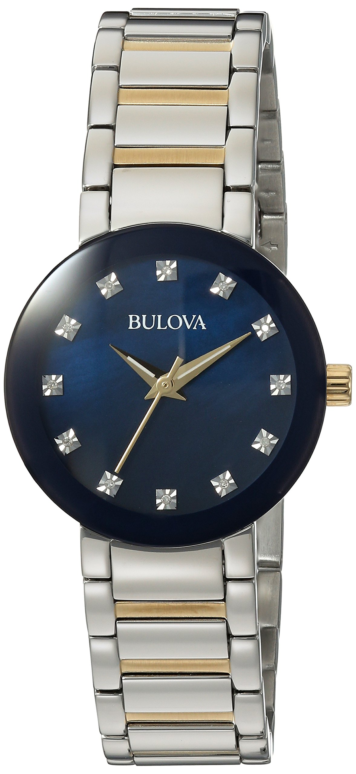 Bulova Women's Quartz Stainless Steel Casual WatchMulti Color (Model: 98P157)