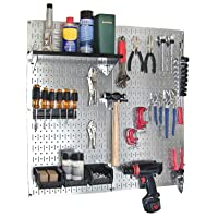 Deals on Wall Control 30-WGL-200GVB Galvanized Steel Pegboard Tool Organizer