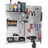 Wall Control 30-WGL-200GVB 2-Panel Galvanized Steel Pegboard Kit