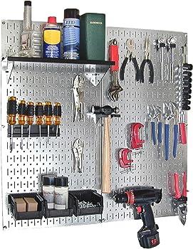 Wall Control 2-Panel Galvanized Steel Pegboard Kit