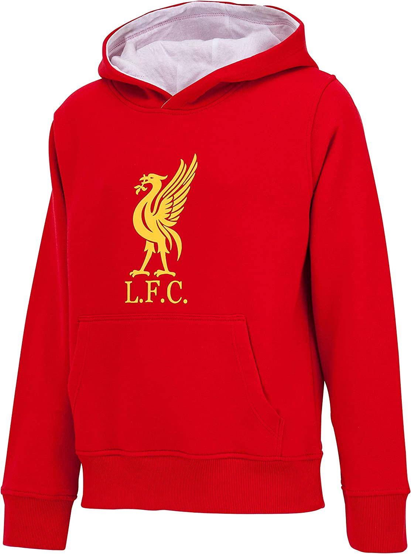 Liverpool Sudadera con Capucha LFC - Colección Oficial - Talla ...