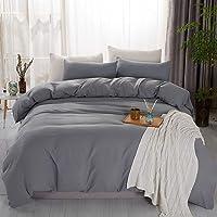 Deals on JML Ultra Soft 3-Pcs Bedding Duvet Cover Set Queen 90x90-in
