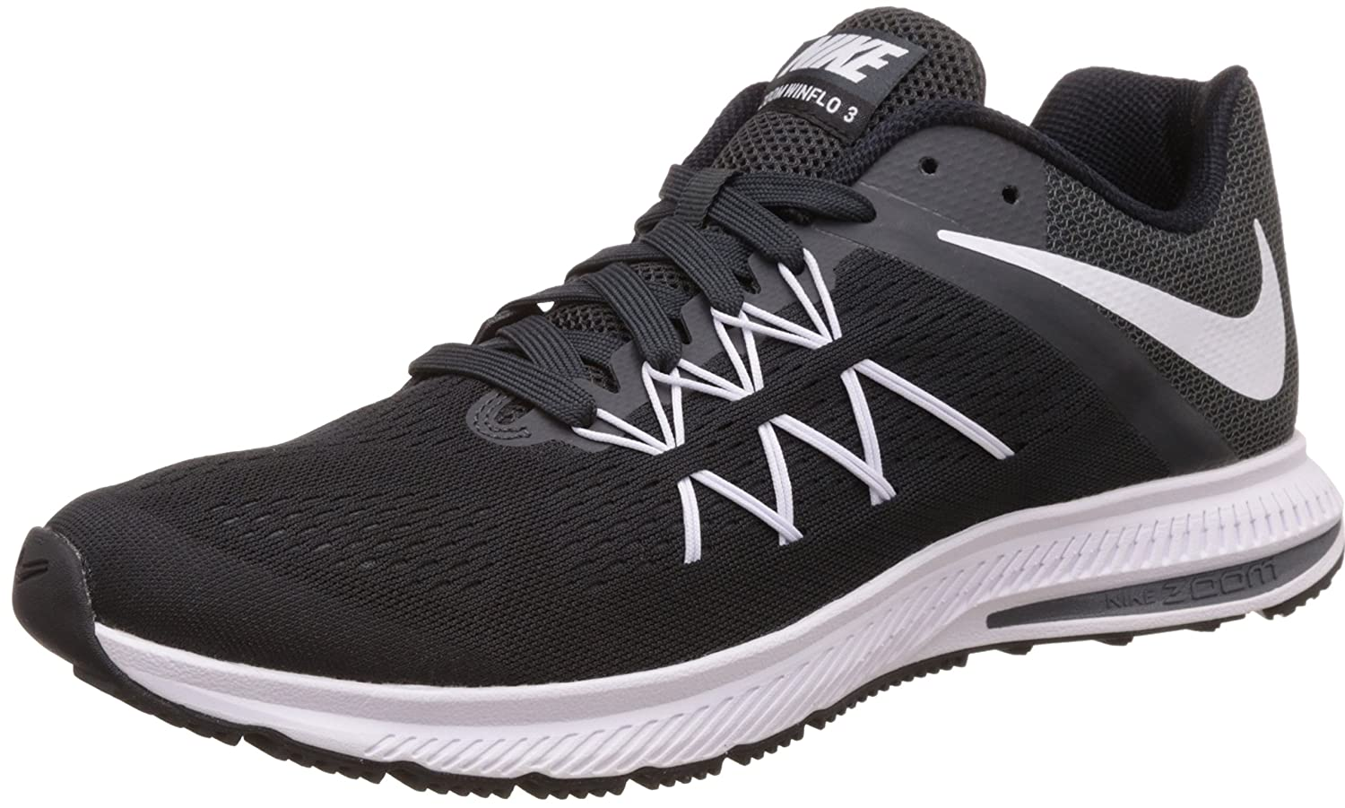 low priced 48163 f986c Nike Men's Zoom Winflo 3 Running Shoes: Amazon.co.uk: Shoes ...