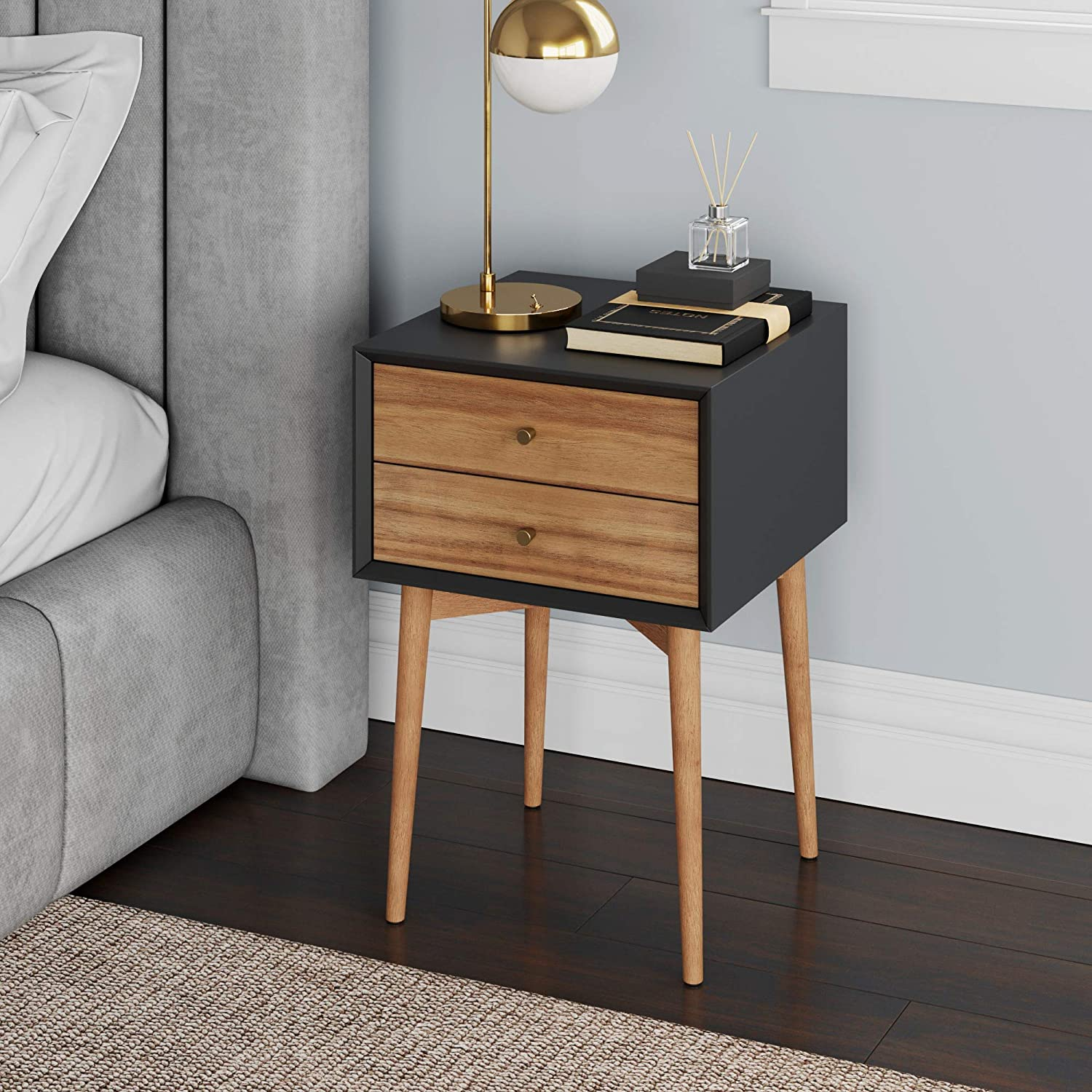 Nathan James Harper Mid-Century Side Table