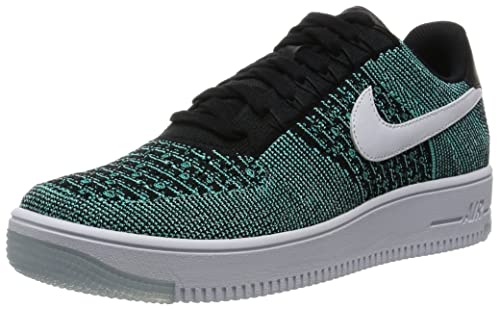 sale retailer b405e c1c7d Nike Af1 Ultra Flyknit Low Scarpe da Basket Uomo, Verde Jade White-Black