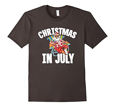 Amazon.com: Christmas in July t shirt: Clothing