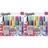 Sharpie Color Burst Markers, Fine Point, 24 Ct - 2 Pack
