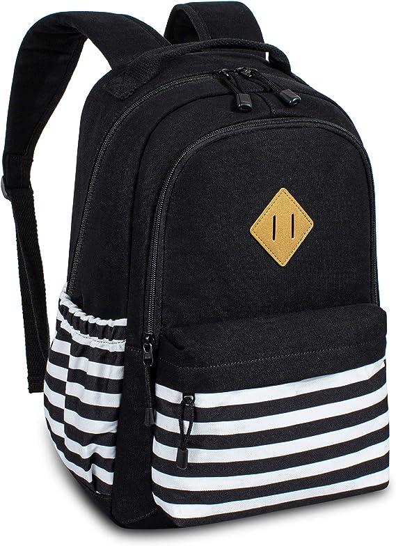 Lightweight MAPOLO Laptop Backpack Wood Casual Shoulder Daypack for Student School Bag Handbag