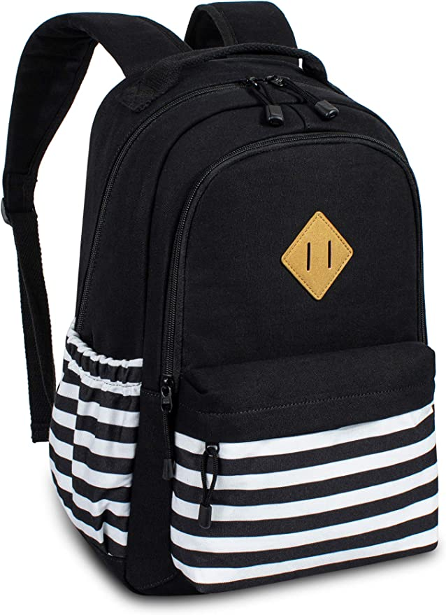MIJUGGH Canvas Backpack Thelma and Louise Driving School Rucksack Gym Hiking Laptop Shoulder Bag Daypack for Men Women