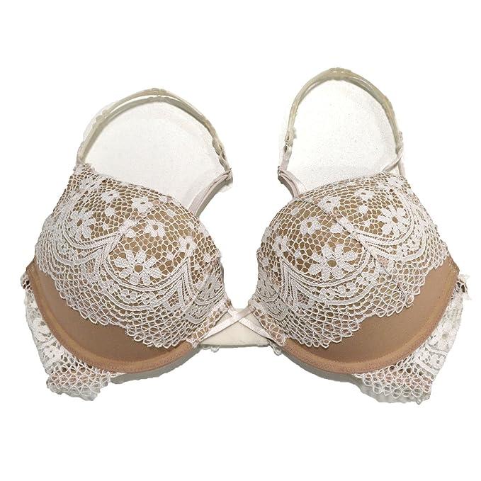 Victoria s Secret Push Up Sujetador Bombshell añade 2 tazas, Crochet encaje