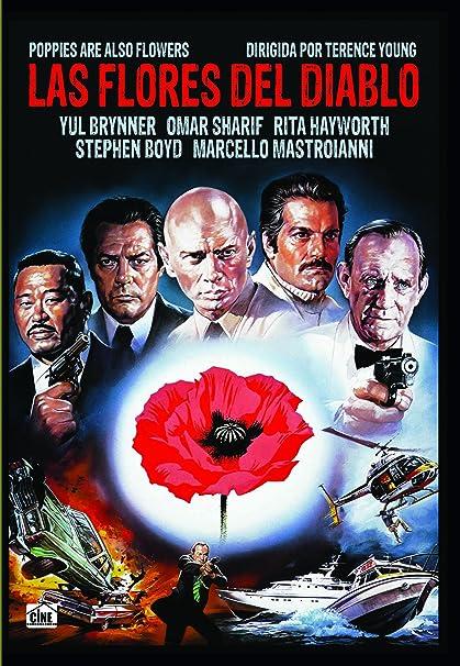 Las flores del diablo [DVD]: Amazon.es: Yul Brynner, Omar Sharif ...