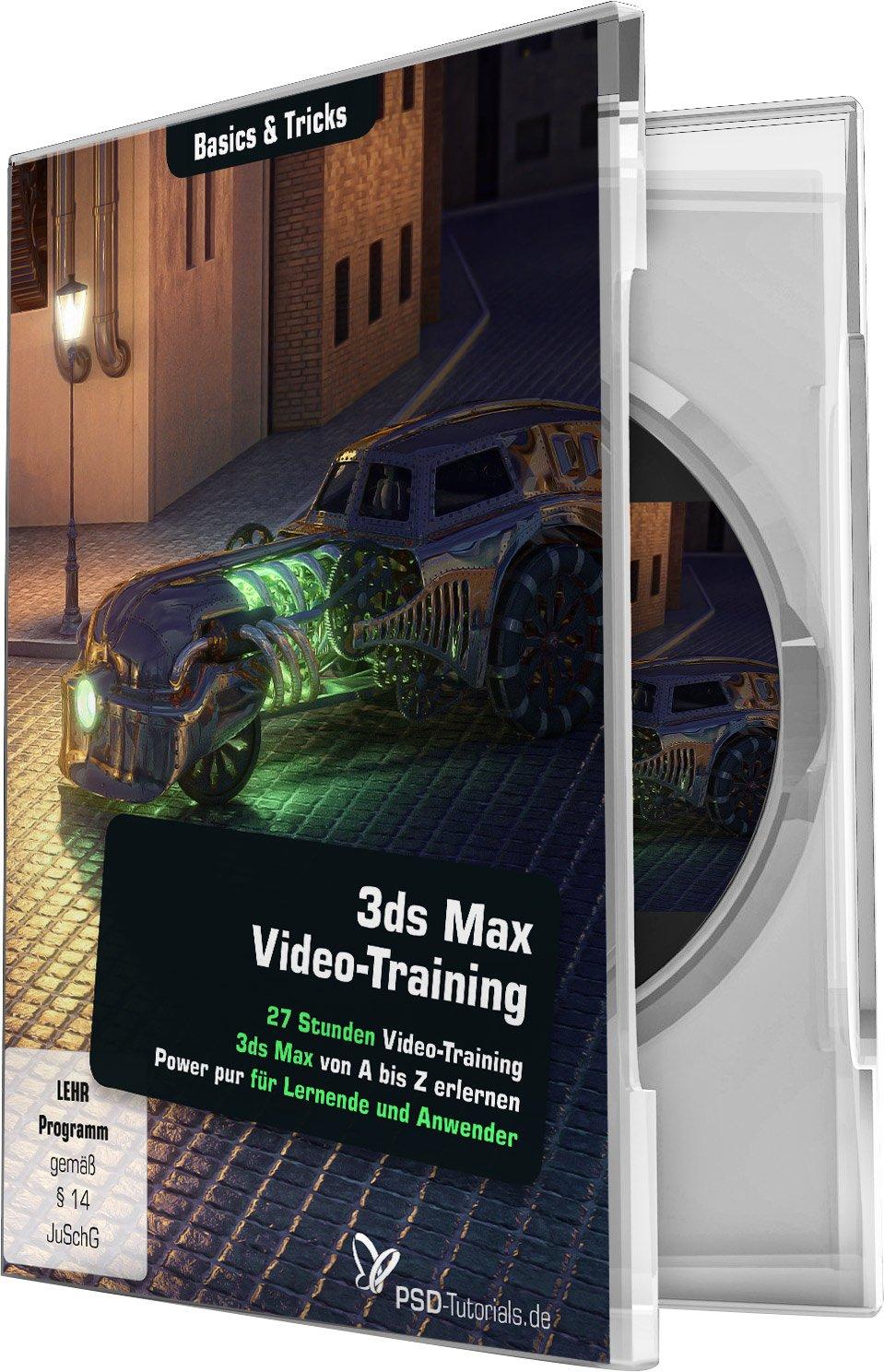 3ds Max Video-Training - Basics & Tricks: Der große Einstieg für den großen Aufstieg!