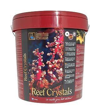 Acuario Systems 2010006 Acuarios Sal Marina Reef Crystals Cubo, 25 kg: Amazon.es: Productos para mascotas