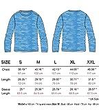 Komprexx Mens Long Sleeve T-Shirts - Quick Dry