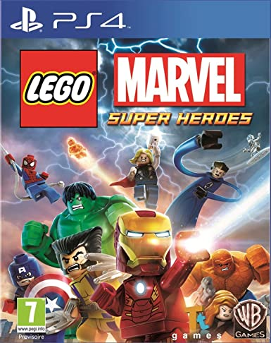 Warner Bros Lego Marvel Super Heroes, PS4 - Juego (PS4, PlayStation 4, Acción / Aventura, E10 + (Everyone 10 +)): Amazon.es: Videojuegos