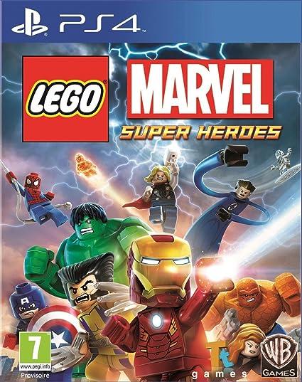 Warner Bros Lego Marvel Super Heroes Ps4 Juego Ps4 Playstation