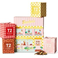 T2 Tea Baxter's Bakery Tea Giftpack, 4 Loose Leaf Tea Feature Cubes in Limited Edition Giftpack, 125 g