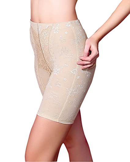 4a3f88fafbef6 Image Unavailable. Image not available for. Color  Junlan Women Body Shaper  High Waist Butt Lifter Tummy Control Panty ...