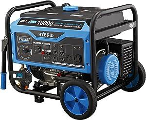Pulsar PG10000B16 Portable Dual Fuel Generator-8000 Rated 10000